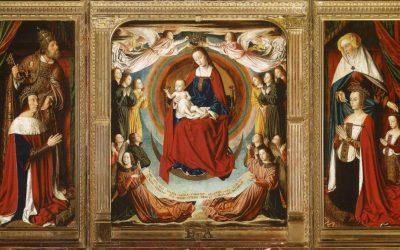 La Vierge en gloire
