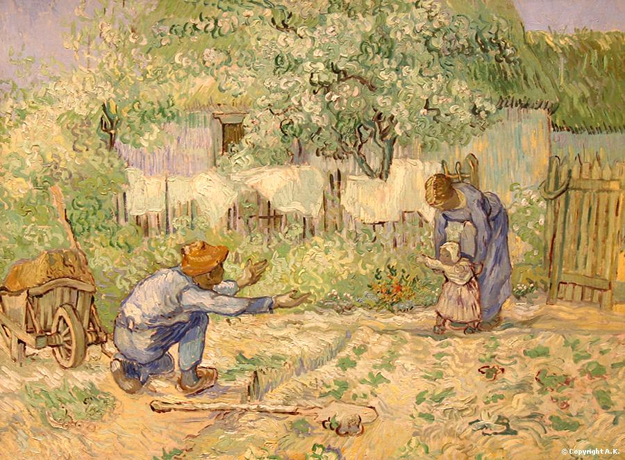 """""""Premier pas"""" : quand Van Gogh nous apprend à voir l'amour dans la famille"""