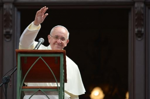 """Pape François : """"Je vous demande d'être révolutionnaires, d'aller à contre-courant """""""
