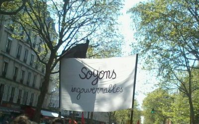 """Soyons ingouvernables"""