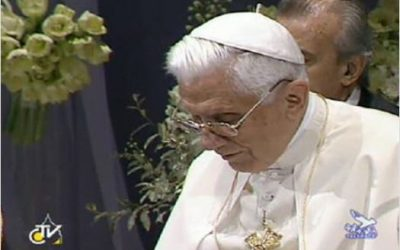 Rappel : l'avenir de l'Europe et la conscience – Benoît XVI