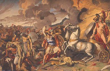 Même à Troie, la guerre a finalement eu lieu.