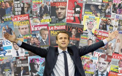 Macron chouchou des médias mais qui leur fait confiance ?