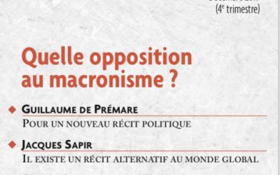 N°579 Quelle opposition au macronisme ?
